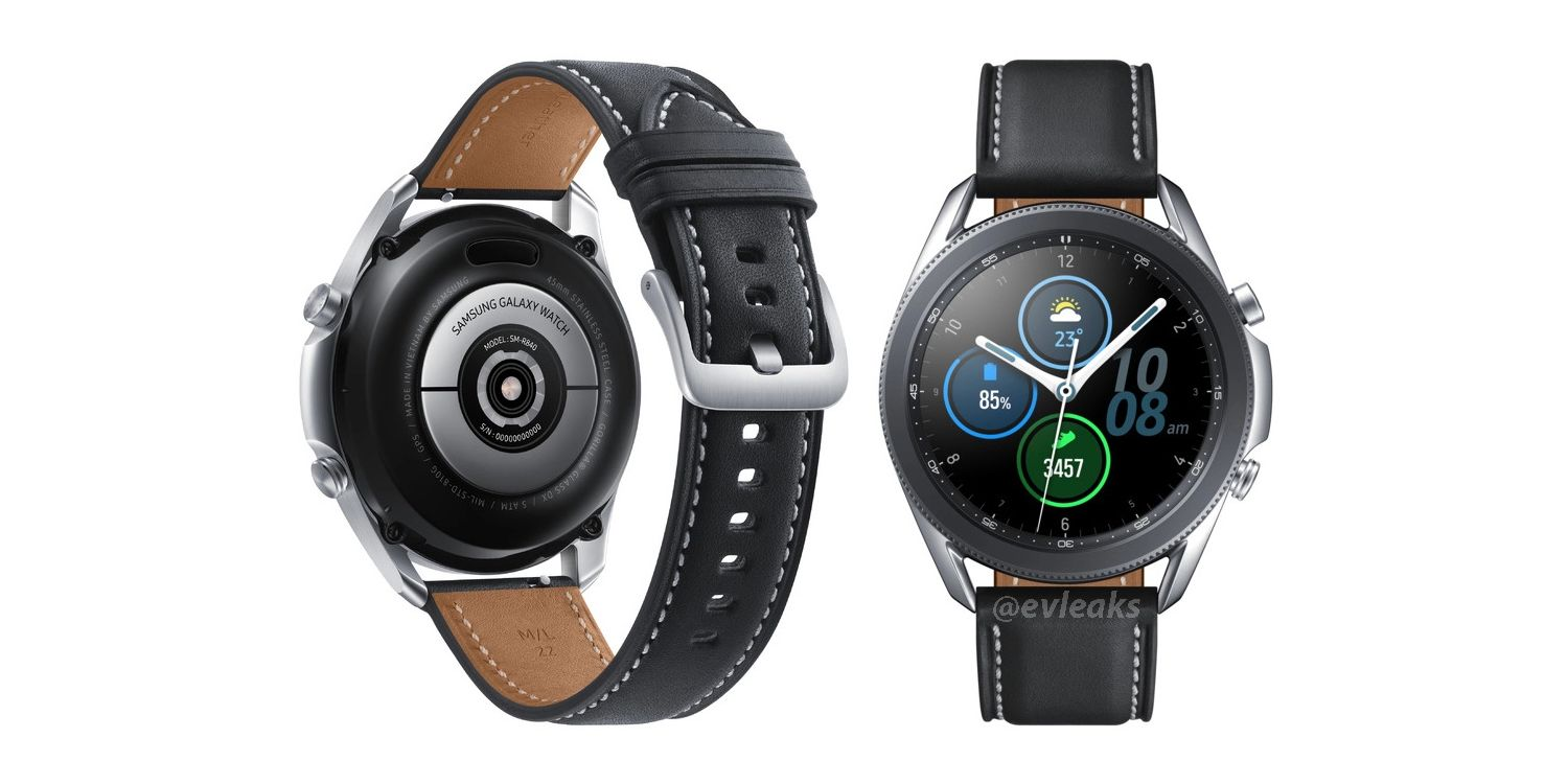 Samsung Galaxy Watch 3 - Clean Reputation