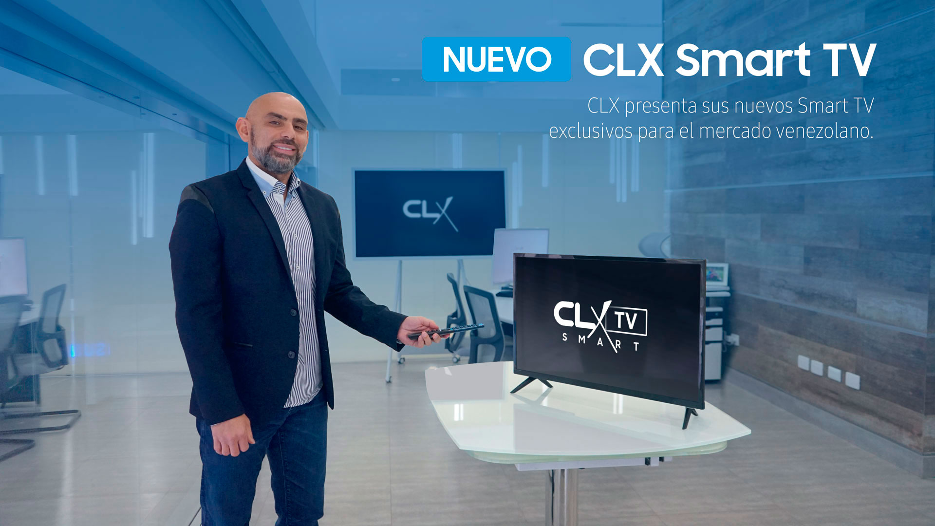 Led TV Smart CLX - Clean Reputation